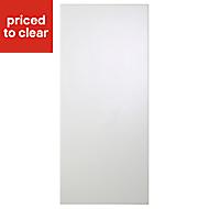 Cooke & Lewis Raffello High Gloss White Tall Cabinet door (W)400mm
