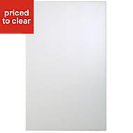 Cooke & Lewis Raffello High Gloss White Standard Cabinet door (W)450mm