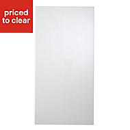 Cooke & Lewis Raffello High Gloss White Tall Cabinet door (W)450mm