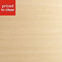 22mm Ferrara oak Oak effect Bedroom Worktop (L)3050mm
