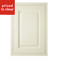 IT Kitchens Holywell Cream Style Classic Framed Standard Cabinet door (W)500mm