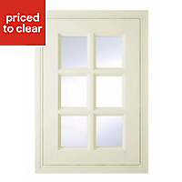 IT Kitchens Holywell Cream Style Classic Framed Cabinet door (W)500mm