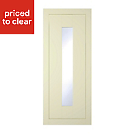 IT Kitchens Holywell Ivory Style Framed Standard Cabinet door (W)300mm