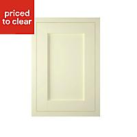 IT Kitchens Ivory Style Framed Standard Cabinet door (W)500mm