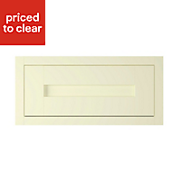 IT Kitchens Holywell Ivory Style Framed Cabinet door (W)600mm