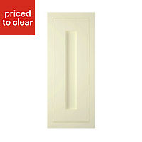 IT Kitchens Holywell Ivory Style Framed Cabinet door (W)300mm