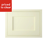 IT Kitchens Ivory Style Framed Integrated extractor fan Cabinet door (W)600mm