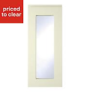 Cooke & Lewis Appleby High Gloss Cream Glazed Cabinet door (W)300mm