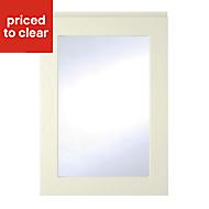 Cooke & Lewis Appleby High Gloss Cream Glazed Cabinet door (W)500mm