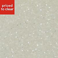Earthstone Pastel grey Acrylic Hob splashback, (H)610mm (T)6mm