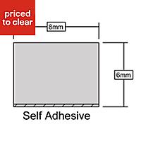 B&Q Foam Self adhesive Weather strip, (L)10000mm