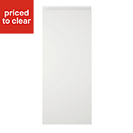 Cooke & Lewis Appleby High Gloss White Standard Cabinet door (W)300mm