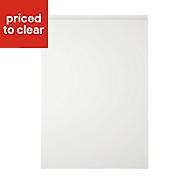 Cooke & Lewis Appleby High Gloss White Standard Cabinet door (W)500mm