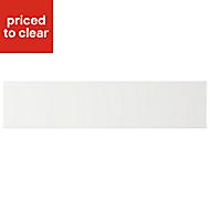 Cooke & Lewis Appleby High Gloss White Oven Filler Panel (H)115mm (W)597mm