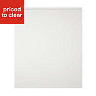 Cooke & Lewis Appleby High Gloss White Appliance Cabinet door (W)600mm