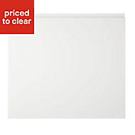 Cooke & Lewis Appleby High Gloss White Oven housing Cabinet door (W)600mm
