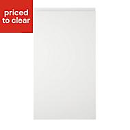 Cooke & Lewis Appleby High Gloss White Standard Cabinet door (W)400mm