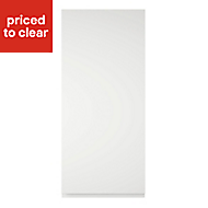 Cooke & Lewis Appleby High Gloss White Tall Cabinet door (W)400mm