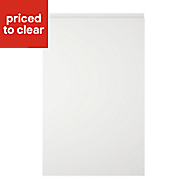 Cooke & Lewis Appleby High Gloss White Standard Cabinet door (W)450mm