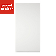 Cooke & Lewis Appleby High Gloss White Tall Cabinet door (W)450mm