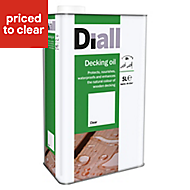 Diall Clear Decking Wood oil