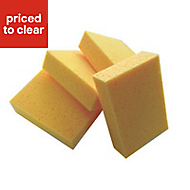 Yellow Sponge, Pack of 4