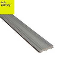 Trex? Chateau grey Composite Deck board (L)2.4m (W)140mm (T)24mm