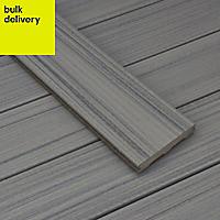 Trex® Chateau grey Composite Deck board (L)2.4m (W)140mm (T)24mm