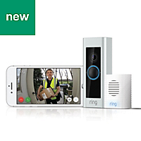 Ring Pro Video doorbell with Chime Kit