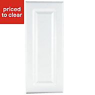 IT Kitchens Chilton Gloss White Style Standard Cabinet door (W)300mm