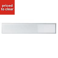 IT Kitchens Chilton Gloss White Style Oven Filler Panel (H)115mm (W)597mm