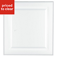 IT Kitchens Chilton Gloss White Style Oven housing Cabinet door (W)600mm