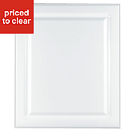 IT Kitchens Chilton Gloss White Style Integrated appliance Cabinet door (W)600mm