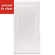 IT Kitchens Chilton Gloss White Style Fridge/Freezer Cabinet door (W)600mm