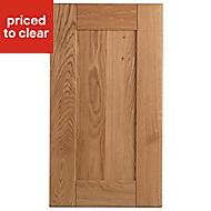 Cooke & Lewis Chesterton Solid Oak Standard Cabinet door (W)400mm