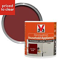 V33 Renovation Chilli red Satin Household appliance paint 500 ml