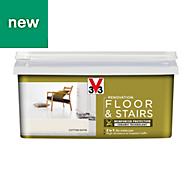 V33 Renovation Cotton Satin Floor & stair paint 2L