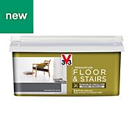 V33 Renovation Anthracite Satin Floor & stair paint 2L