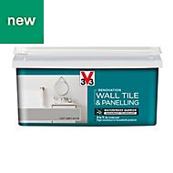 V33 Renovation Loft grey Satin Wall tile & panelling paint, 2L
