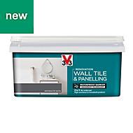 V33 Renovation Anthracite Satin Wall tile & panelling paint, 2L