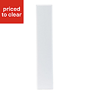 IT Kitchens Chilton White Country Style Oven Filler Panel (H)115mm (W)597mm