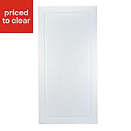 IT Kitchens Chilton White Country Style Fridge/Freezer Cabinet door (W)600mm