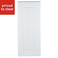 IT Kitchens Chilton White Country Style Standard Cabinet door (W)300mm