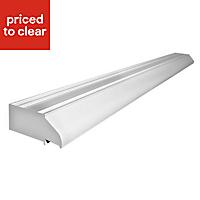 Richmond White PVCu Patio door vent, (L)1.79m (W)1790mm (T)100mm