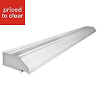 Richmond White PVCu Patio door vent, (L)1.49m (W)1490mm (T)100mm