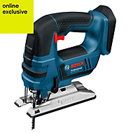 Bosch Professional 18V Cordless 4 stage pendulum action Jigsaw GST 18V-LI - BARE