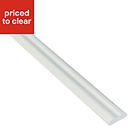 IT Kitchens White Country Style Wall corner post, (W)32mm (H)715mm