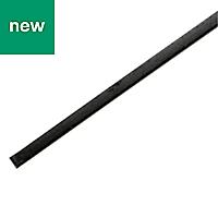 Varnished Hot-rolled steel Square tube (H)10mm (W)10mm (L)1m