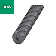 Varnished Hot-rolled steel Bar (H)6mm (L)1m