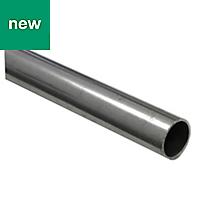 Varnished Cold-pressed steel Round tube (H)1.2mm (L)2m
